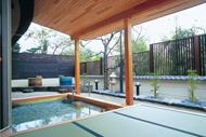 木畳露天風呂大浴場