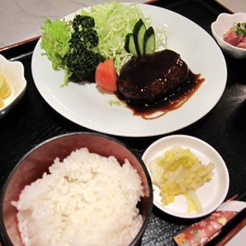 日替わり定食(ハンバーグ)