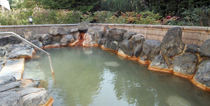 庭園露天風呂「星の雫」