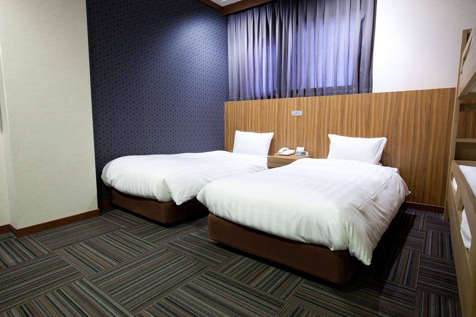 標準雙床間禁煙房