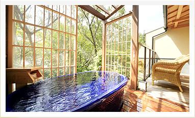 露天風呂付 メゾネット客室
