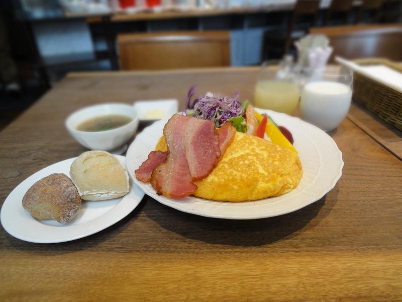 アメリカン朝食