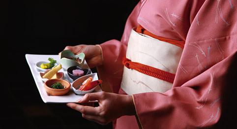 和服&料理