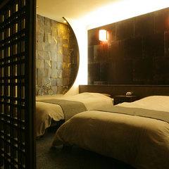 ≪基本プラン≫半露天付き客室の『芽生〜mebae〜』1室のみの特別空間を味わい尽くす。