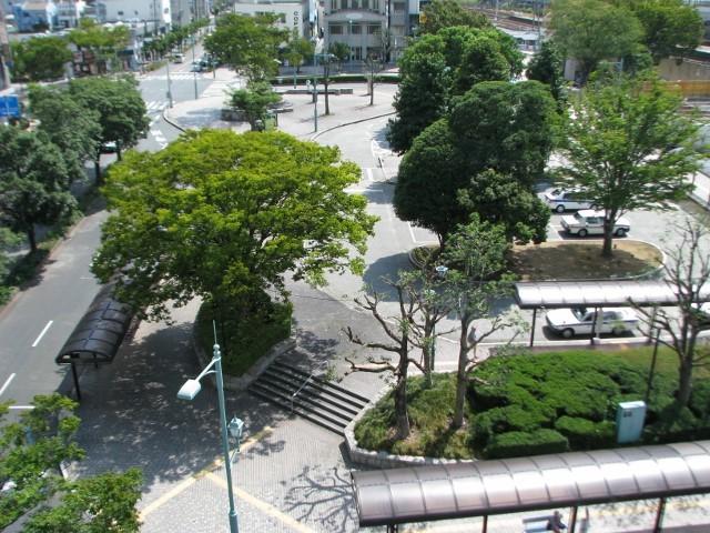 自転車の 静岡駅 貸 自転車 : 東側客室より 駅前ロータリー ...