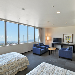 Executive Ocean View Twin Room 46 to 50 Sq M
