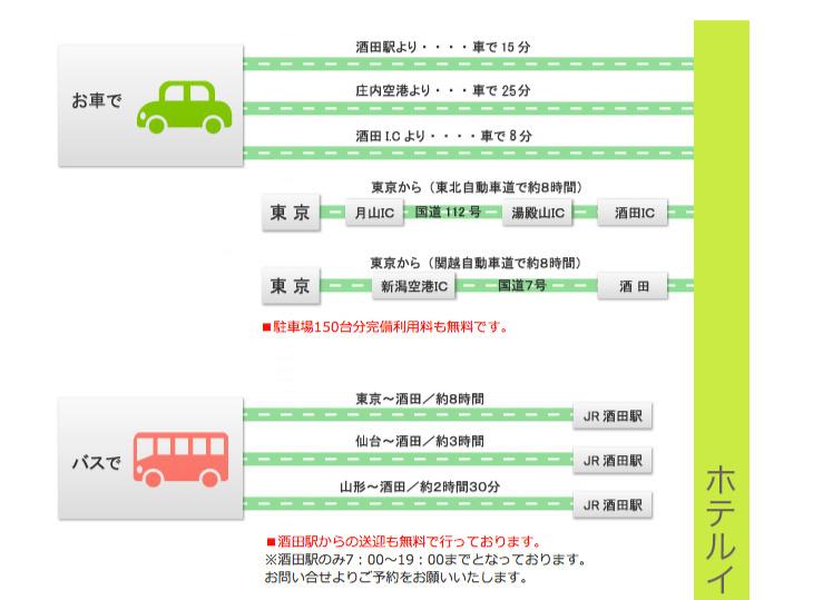 アクセス(車・バス)