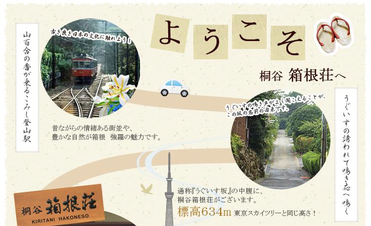 ようこそ、桐谷箱根荘へ