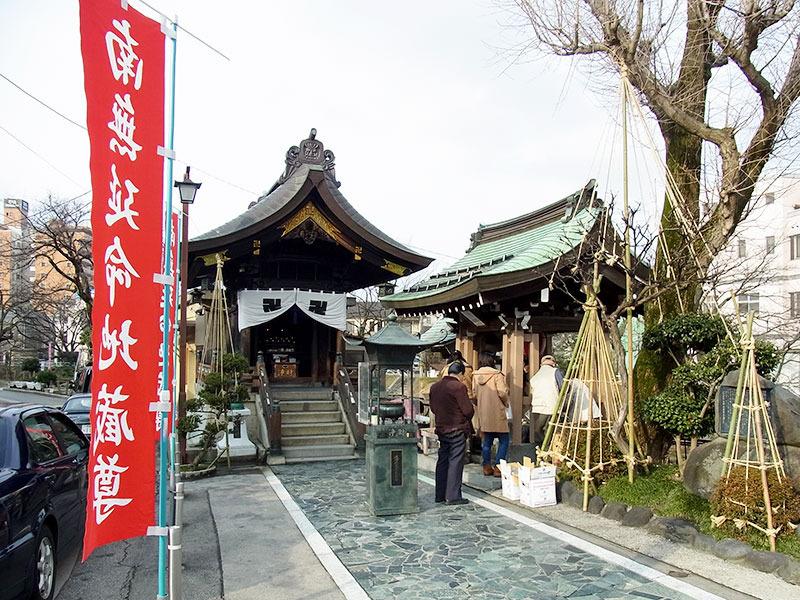 石倉町の延命地蔵