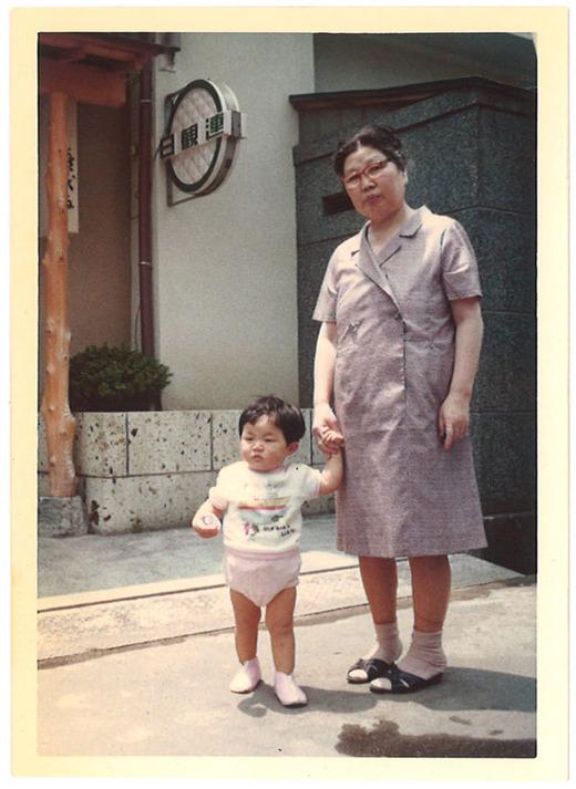 一歳の頃祖母と