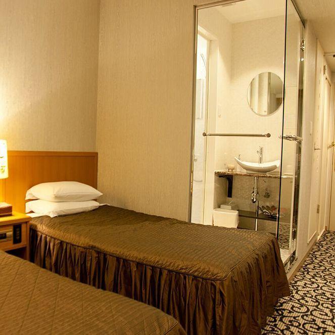 標準雙床間 21-25平方米