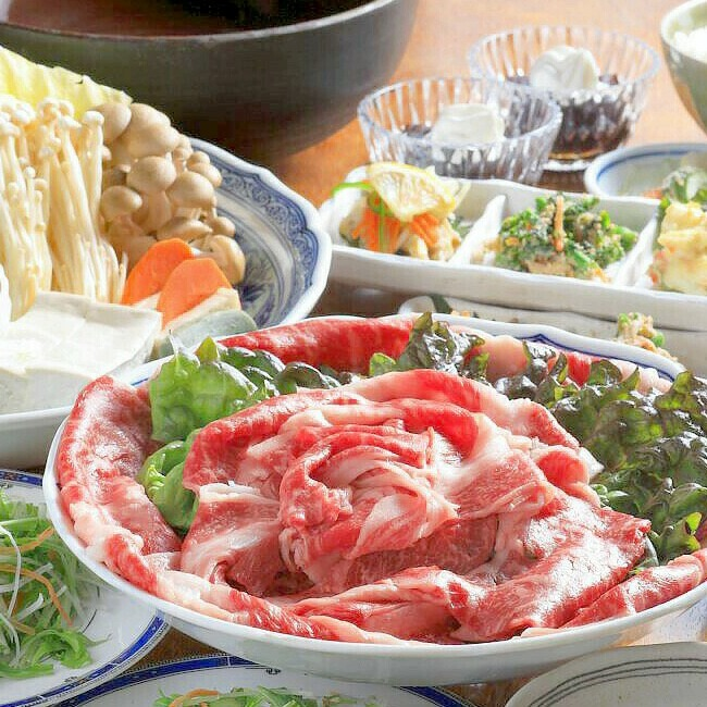June-only!Shabu-shabu plan of the beef