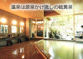 奥日光小西ホテルの温泉