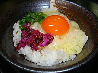 朝食ー究極の卵かけご飯