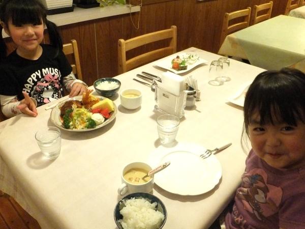 アラパパ 姉妹食事
