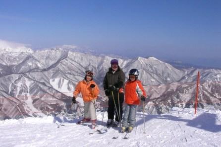 苗場スキー場 山頂