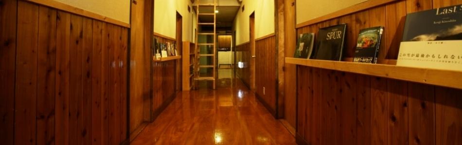 苗場 ペンションハイジ 3階廊下