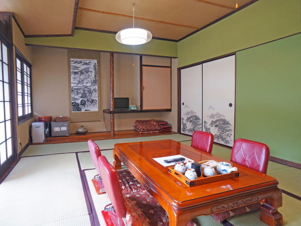 MAIN BUILDING DELUXE MOUNTAIN VIEW JAPANESE STYLE ROOM
