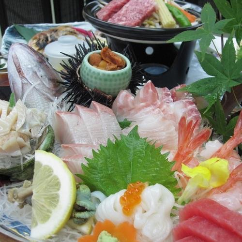 板長特選!豪華お造り盛り合わせ!日本海の幸をたっぷり堪能!