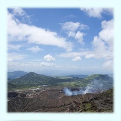 阿蘇中岳火口イメージ