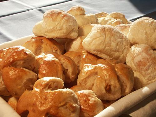朝のパン1