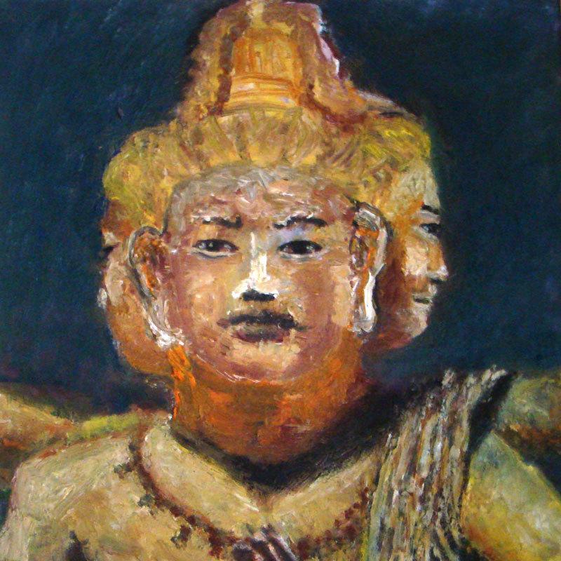 興福寺阿修羅像j絵画