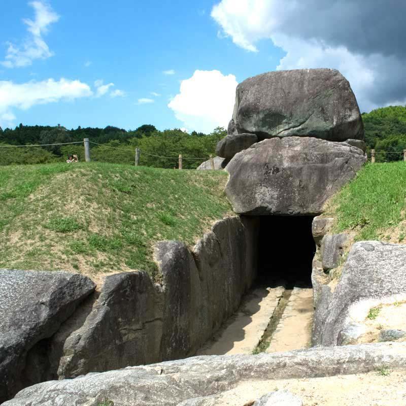 石舞台石室
