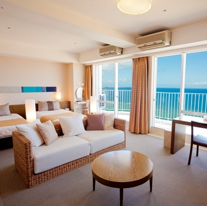 Main Building Executive Twin Room with Balcony