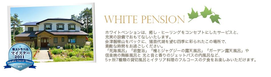 ホワイトペンションとは