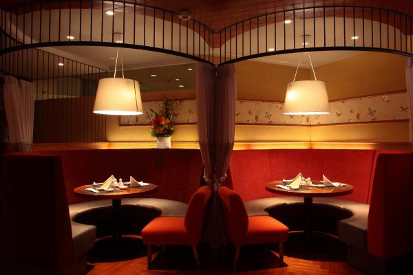 中国料理「大湖苑」1階