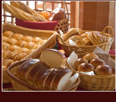 いなとり荘の自家製パン