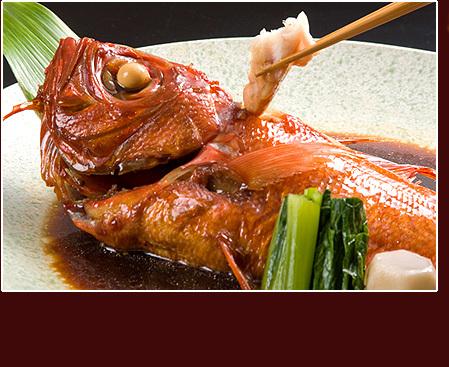 伊豆の郷土料理「金目鯛の煮付け」