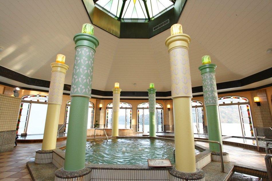 天然温泉大浴場「大正浪漫の湯」