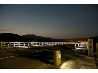 渡月橋 夜