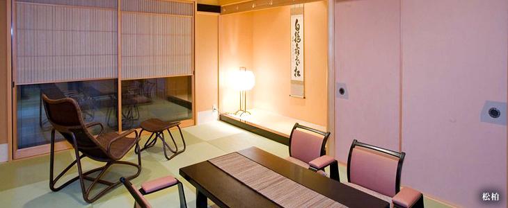純和風の特別室「松柏」「梧桐」「橘」