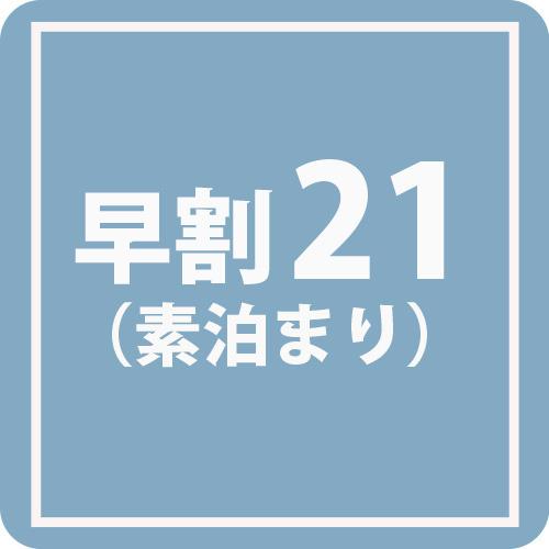 【早割!キャンセル・変更一切不可】□■□事前予約限定!21日前までの特別価格!□■□(素泊まり)