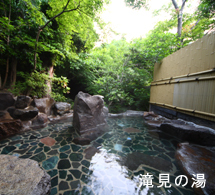 貸切露天風呂滝見の湯