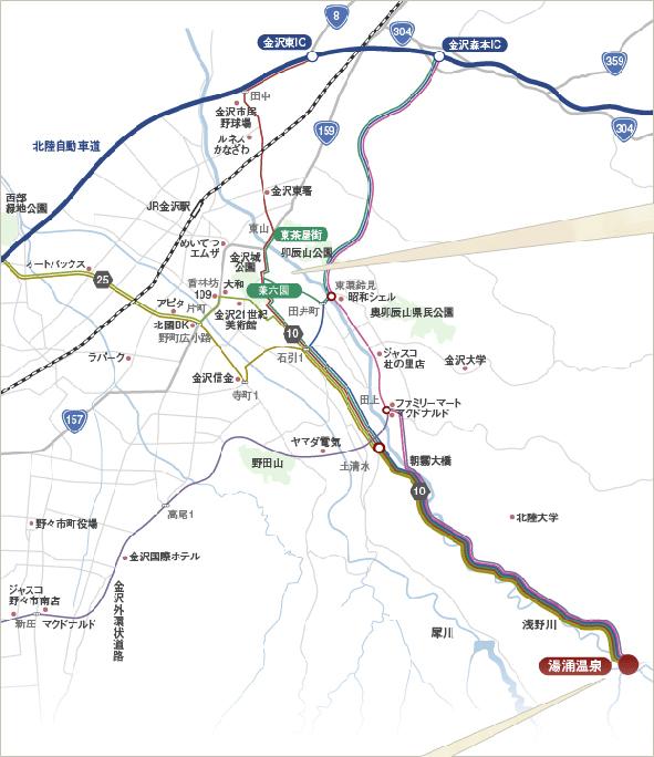 観光地MAP