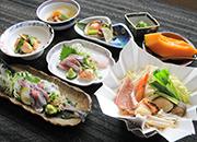 根室の旬鮮魚介類に舌鼓♪主人の手作り料理を堪能(夕朝食付)