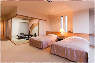 広さと快適性を兼ね備えた和洋室