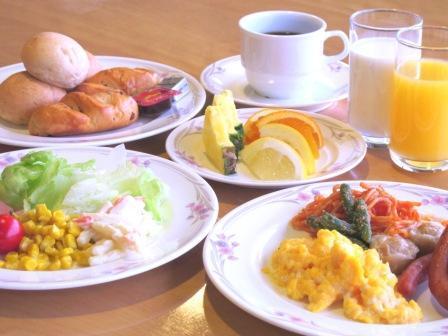 ■朝食バイキング(又は朝定食)【大浴場でのんびり】【朝食付】