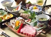 【お料理グレードアップ!】料理長こだわりの季節のお料理【とろける銘柄和牛★いわて南牛プラン】