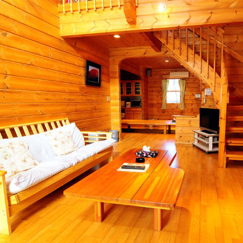 Cottage Twin Room with Private Open-Air Bath
