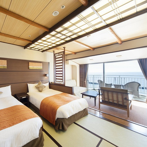 Japanese-Style Room with Terrace