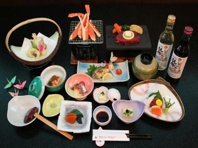 Choose Japanese course dinner Plan