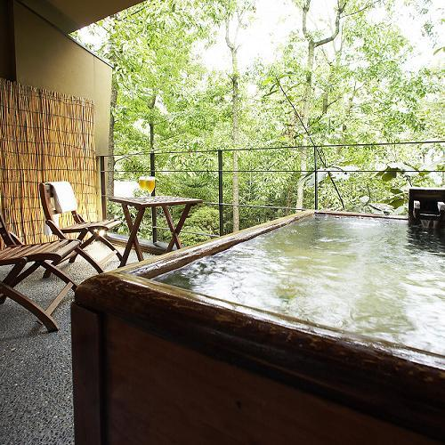 Main Building Japanese-Style Room with Private Open-Air Bath