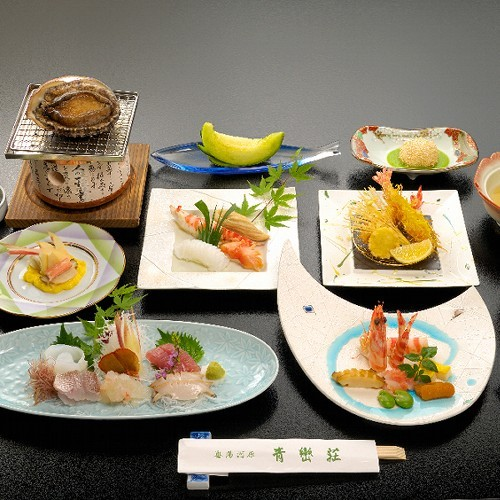 Gourmet Plan (Slices of raw fish enhancement)