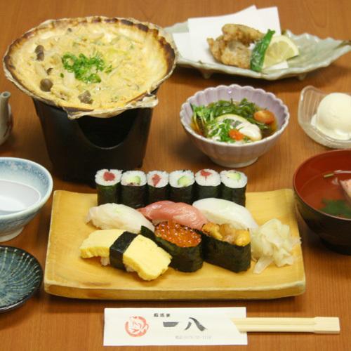 【創立60周年記念感謝祭】鮨道楽一八「お寿司セット」付きプラン(現金特価)