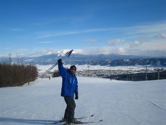【富良野スキー場】ゲレンデからの眺めも最高!!
