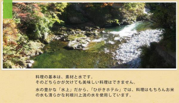 利根川の水説明